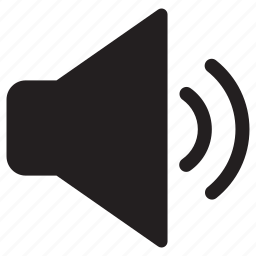 audio, average, medium, sound, speaker, volume icon