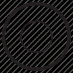 audio, circle, record, sound, voice icon