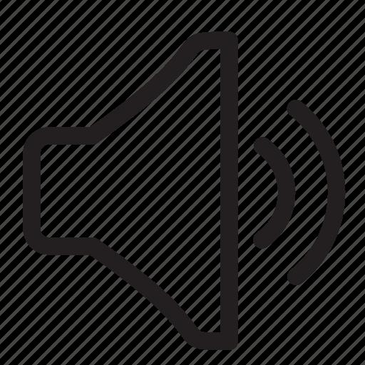 audio, average, medium, music, sound, volume icon