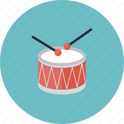 bass, beat, drum, drumroll, drumstick, instrument, music, musical, play, rock, session, sound, start, sticks icon