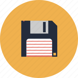 archive, computer, disk, diskette, document, download, file, floppy, format, guardar, history, information, media, memory, obsolete, old, pc, retro, save, technology, web icon