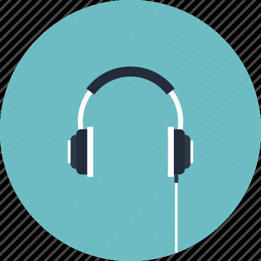 Audio, dj, headphone, headphones, headset, hear, listen icon - Download on Iconfinder