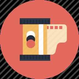 analog, camera, equipment, film, image, kodak, negative, old, photo, photography, photos, retro, roll, tape icon