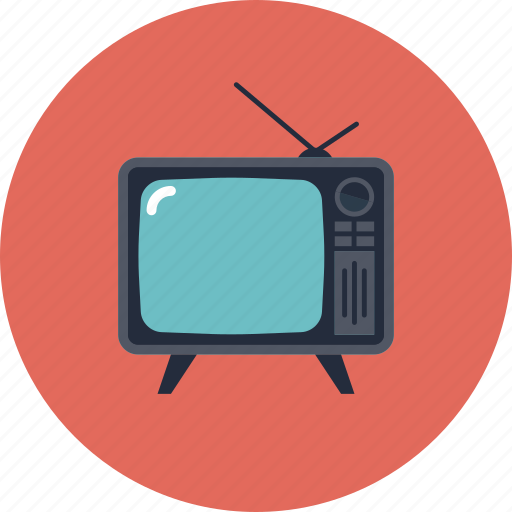 analog, broadcast, display, media, movie, old, retro, screen, set, technology, television, tube, tv, video icon