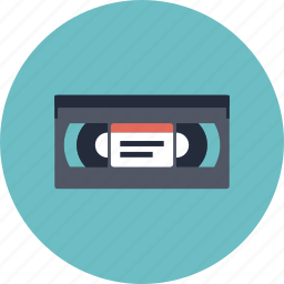 analog, cassette, film, movie, old, oldchool, record, retro, tape, vcr, vhs, video, videotape icon