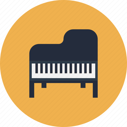 classic, classical, concert, grand, instrument, keyboard, music, musical, opera, piano, retro, sound, string icon