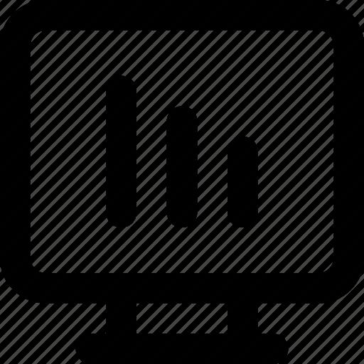 list, monitor, option, tv icon