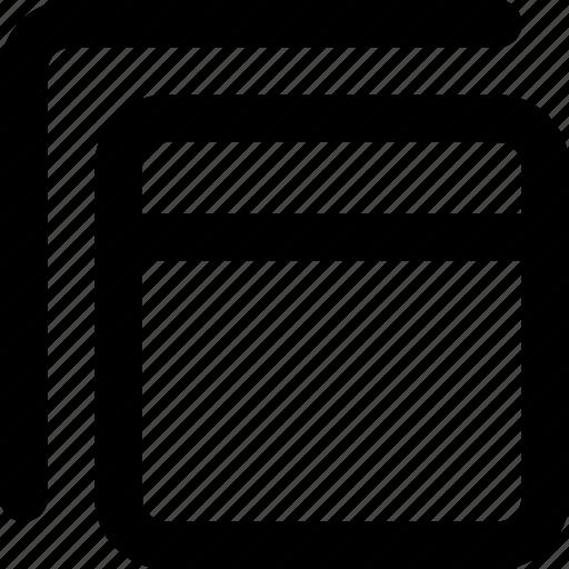 asset, menu, web, web asset icon