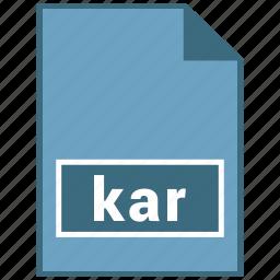 audio, file format, kar icon