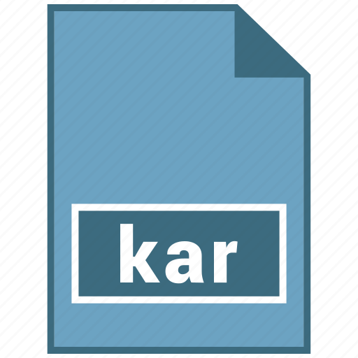 audio, file format, kar icon