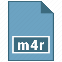 audio, file format, m4r icon
