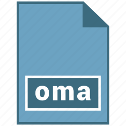 audio, file format, oma icon