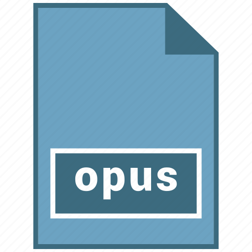 audio, file format, opus icon