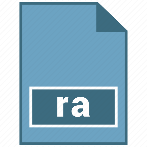 audio, file format, ra icon
