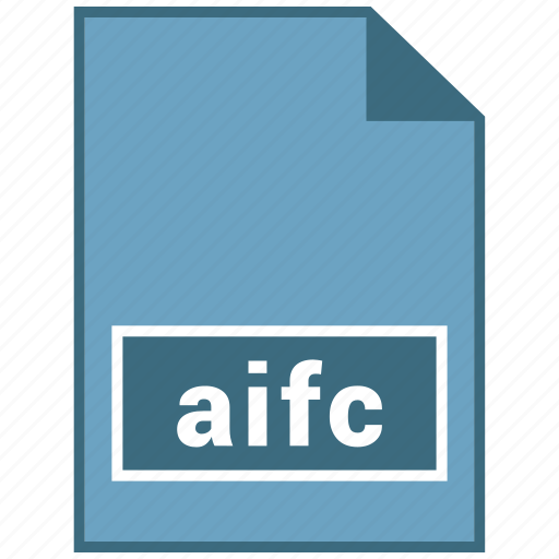 aifc, audio, file format icon