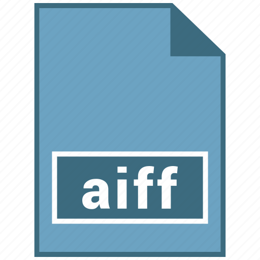 aiff, audio, file format icon