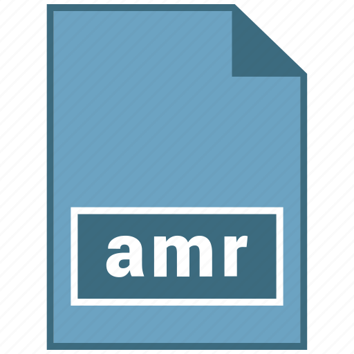 amr, audio, file format icon