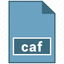 audio, caf, file format icon