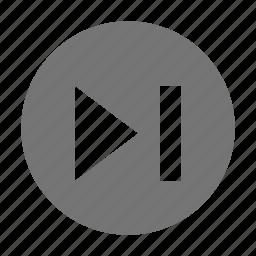 audio, control, next icon