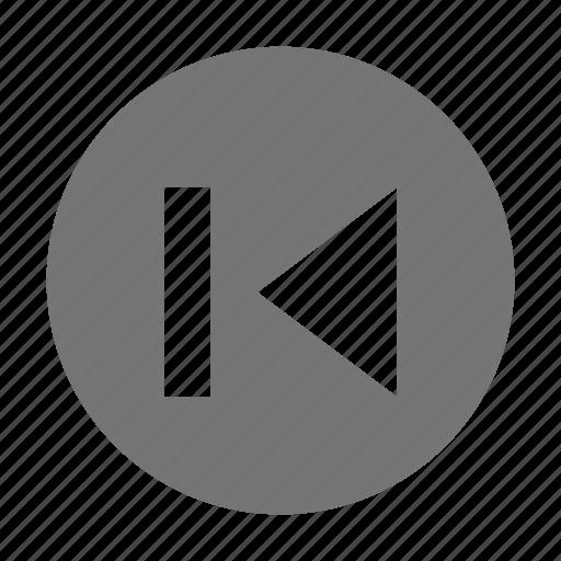 audio, control, previous icon