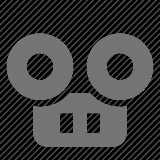 cassette, recorder icon