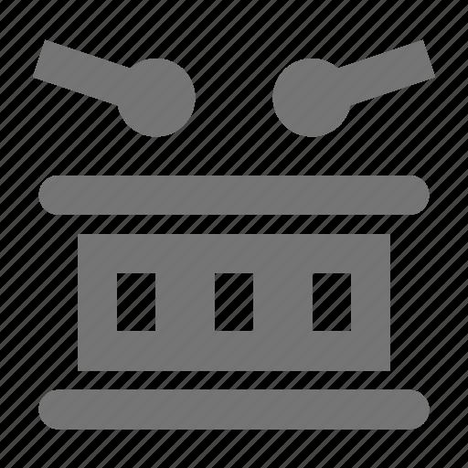 drum, instrument, percussion icon