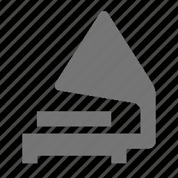 gramophone, music icon