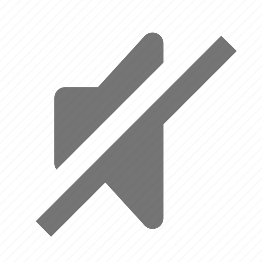 mute, speaker, volume icon