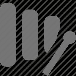 instrument, xylophone icon