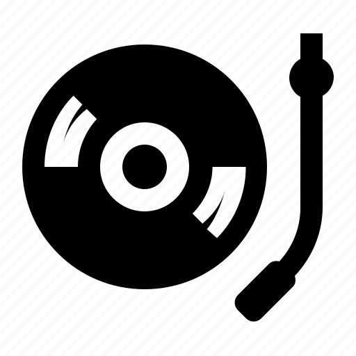 audio, multimedia, player, record, sound, turntable, vinyl icon