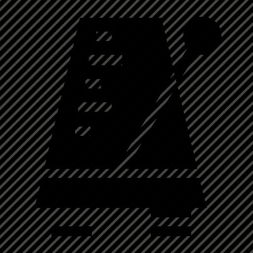 device, instrument, metronome icon