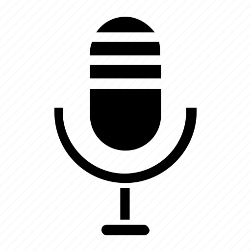 Audio, microphone, record, media, mic, sound, voice icon - Download on Iconfinder