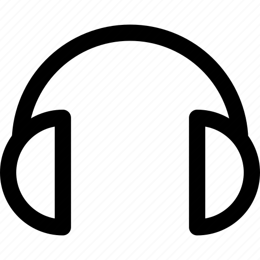 audio, control, headset, music, sound, video icon