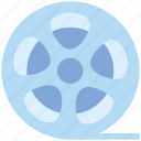 film, movie, multimedia, reel, video icon