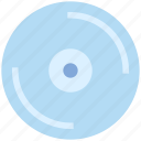 cd, compact disk, disc, multimedia, video icon