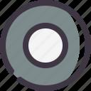 cd, dvd, srubber icon