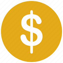 coin, controls, currency, dollar, money, payment icon