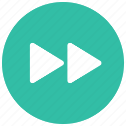 arrow, audio, controls, fast, forward, game, video icon
