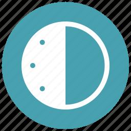 audio, controls, game, half, past, time, video icon