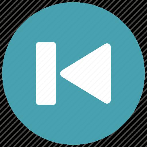 arrow, audio, controls, game, left, previous, video icon