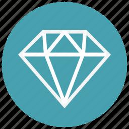 audio, controls, diamond, game, value, video icon