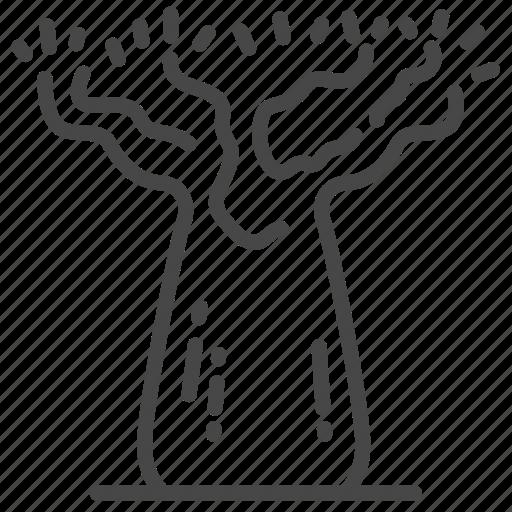 adansonia, australia, australian, baobab, large, travel, tree icon