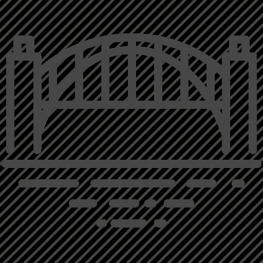 australia, australian, bridge, harbour, landmarks, sydney, travel icon