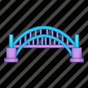 australia, bridge, harbour, sydney icon