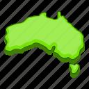 australia, map, location, navigation