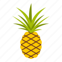 decoration, dessert, exotic, food, fresh, freshness, pineapple icon