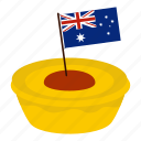 country, ensign, flag, little flag, nation, national, zealand icon