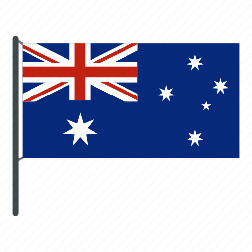 australia, australian, australian flag, banner, constellation, country, language icon
