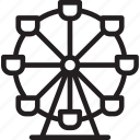 austria, austrian, ethnic, ferris wheel, local