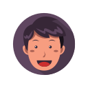 .svg, emoticon, emoji, face, expression, emotion, man
